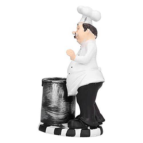 BOLORAMO Figurina dello Chef, Decorazione del Desktop dall'aspetto Realistico per Il Soggiorno per...