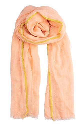 Becksöndergaard Damen Nola Cota Rose Leichtes Halstuch Apricot Baumwolle 100x200 cm - 2001606002-354