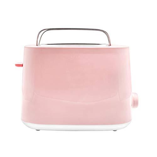 WANGYIYI Toasters Máquina automática Multifuncional Máquina de Desayuno Rosa Tostadora Hogar Pequeña Tostadora Tostadora de Ajuste de Temperatura Multi-Velocidad