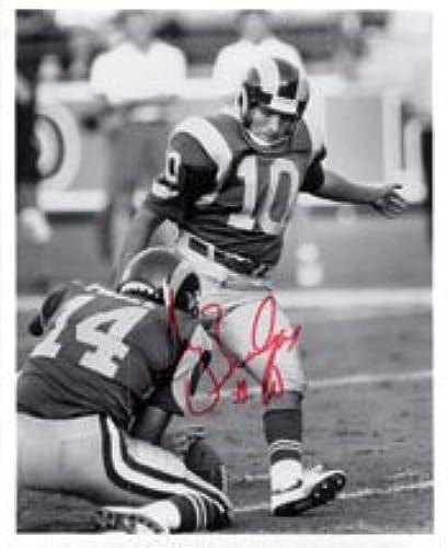 Signé zendejas, TONY 8x 10B & W Autographe