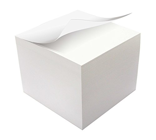 Haftnotizen im Nachfüllpack, Haftnotizwürfel, 75x 75x 75mm, 750Blatt