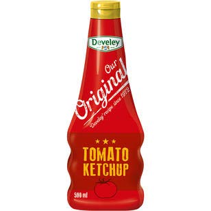 Develey Our Original Tomato Ketchup, 12er Pack, 12 x 500 ml
