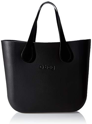 O bag mini, Borsa da donna, Nero, Taglia Unica