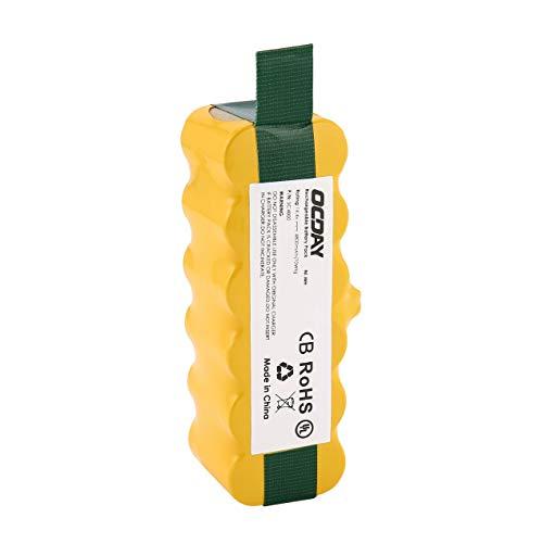 DBSUFV OCDAY 14,4 V 4800 mAh Ni-MH aspiradora batería Recargable batería de Repuesto Adecuada para Irobot Roomba