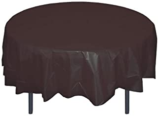Best black round tablecloths cheap Reviews
