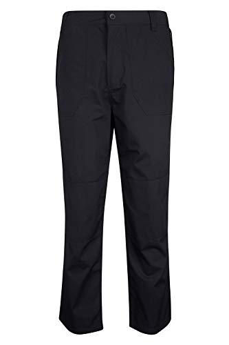 Mountain Warehouse Pantalon pour Hommes Outdoor Court Noir FR 38 (EU 28)