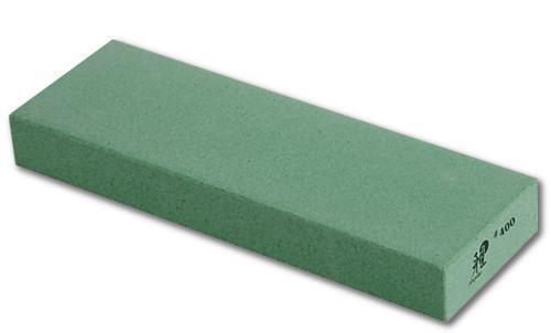 MIYABI 34536-001 - Piedra de afilar con granulación 400, 210 x 70 x 25 mm