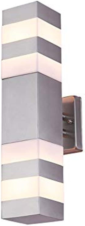 JAY-LONG LED Smart Wandleuchte, IP65 Wasserdicht Dekor Beleuchtung, Geeignet Für Innenhof Balkon Korridor, Warmes Licht, 85-265V, 387  79  163Mm