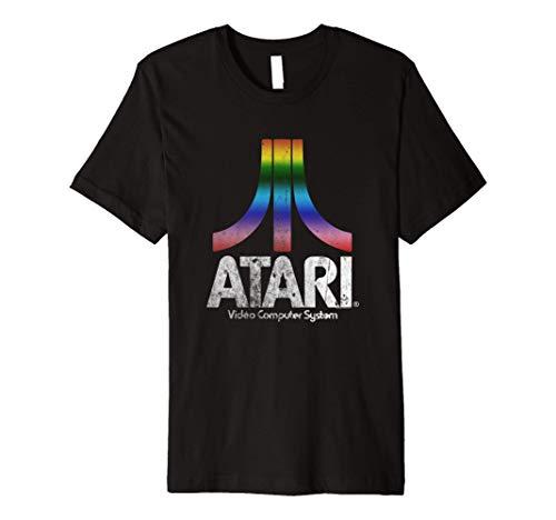 Atari Video Computer System Premium T-Shirt, Adults S to 3Xl