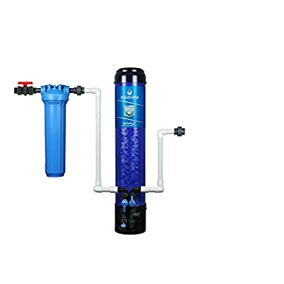Aquasana OptimH2O Whole House Water Filtration System - Removes 99% Lead, Chlorine & Chloramines - 100,000 Gal. (Water Filtration System)