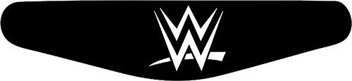 Decus-Shop Play Station PS4 Lightbar Sticker Aufkleber WWE (schwarz)