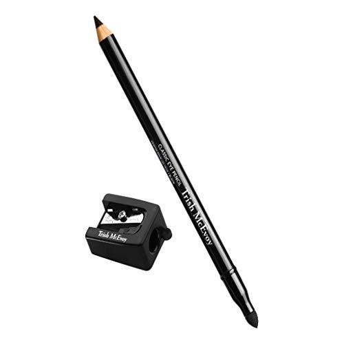 Trish McEvoy Classic Eye Pencil with Sharpener, shade=Black