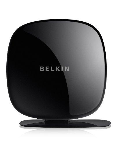 Belkin Play N600DB WLAN-Router NextNet 2.0 (bis zu 300mbit/s + 300mbit/s) schwarz