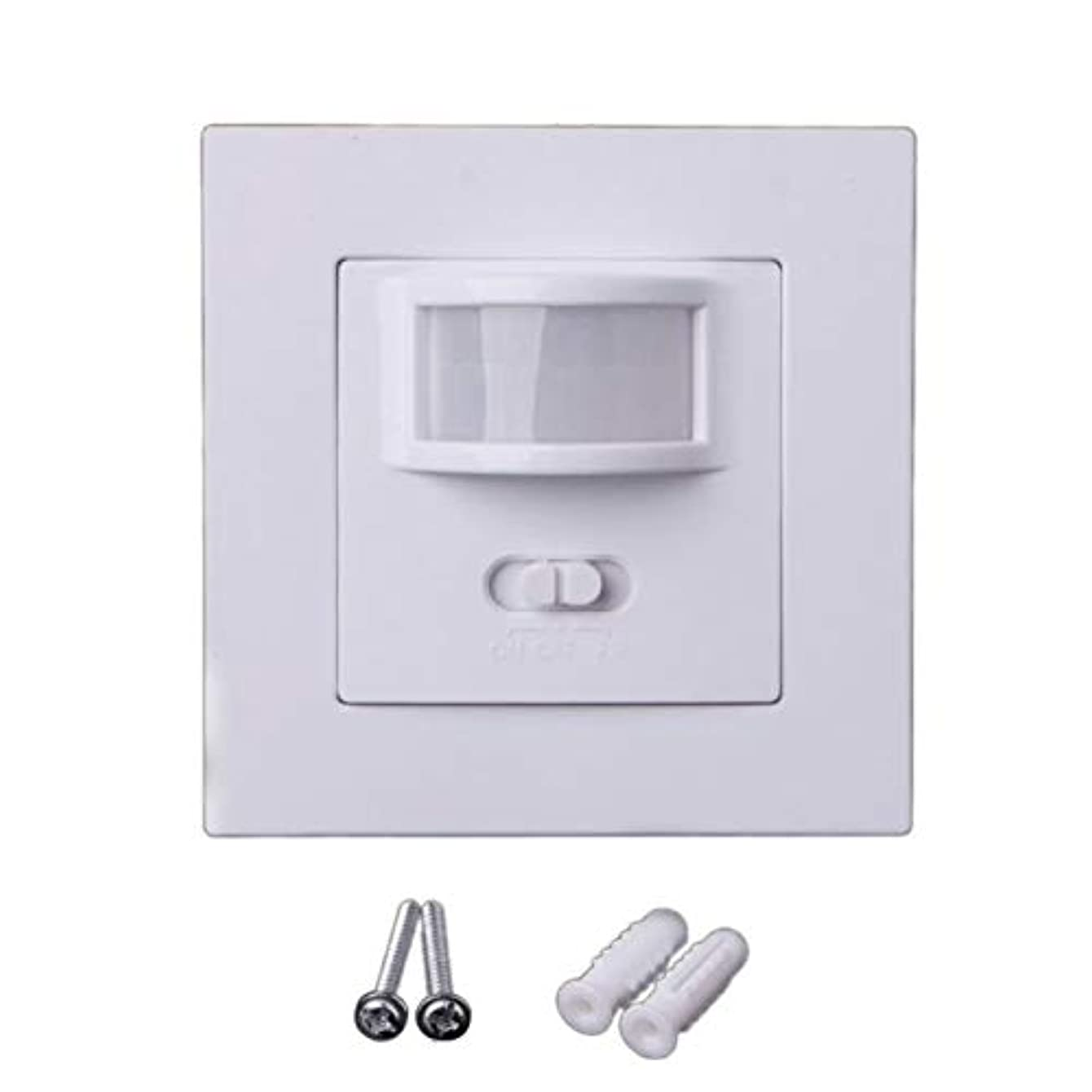 Motion Switch - Motion Sensor Light 110v 240v Switch Square Power Intelligence Human Body Infrared - Night Rechargable Stair Porch Counter Stairway Cord Power Alert Ceiling Mounting Bell Zo