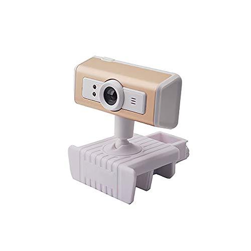 Bocotoer HD Webcam 480P Streaming Webcam con Micrófono Portátil USB PC Webcam Grabación Video Cámara Web Cámara para Juegos/Videollamadas