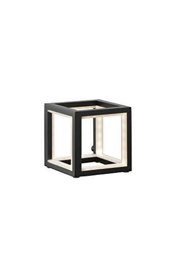 Sompex LED Tischleuchte Delux in Würfelform - in verschiedenen Größen - schwarz, Größe:Klein (12cm)