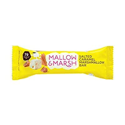 mallow & marsh salted caramel marshmallow bar - multipack 12 x 35 g Mallow & Marsh Salted Caramel Marshmallow Bar 1 unit (Packaging may vary) 31EatVMGdjL