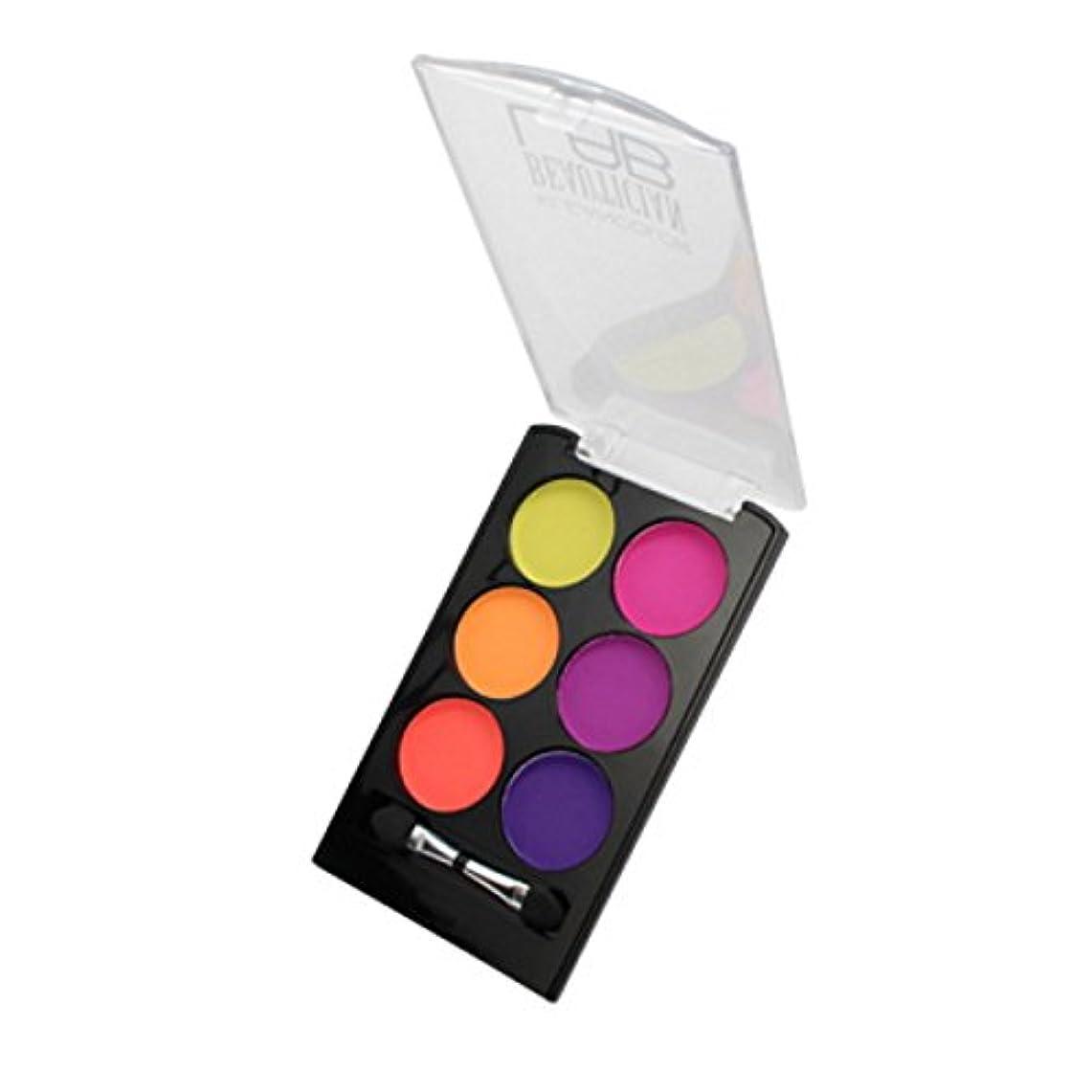 レルム導出繰り返し(3 Pack) KLEANCOLOR Beautician Lab Shimmer Shadow Pallete - Tech (並行輸入品)