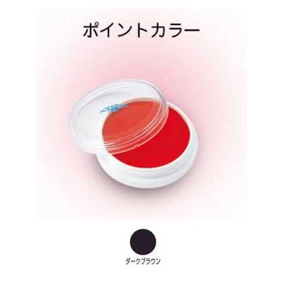 トロリー流行しているホールアクアカラー 4g ダークブラウン 【三善】