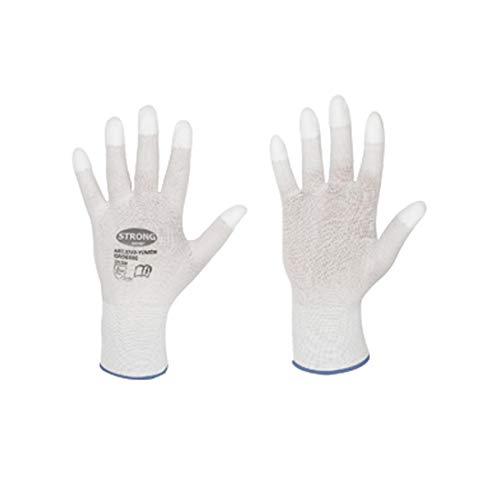 Werkhandschoenen met PU-vingertoppen voor goudsmeden en horlogemakers voor het polijsten van L
