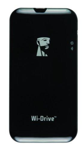Kingston Wi-Drive 64GB externe SSD-Festplatte (6,4 cm (2,5 Zoll) USB 2.0)