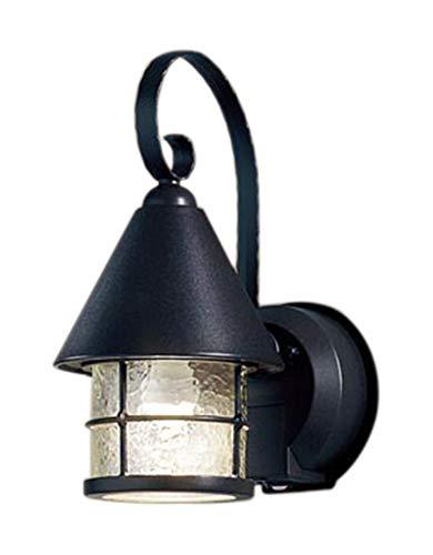 パナソニック(Panasonic) LEDポーチライト40形電球色LGWC85044BK