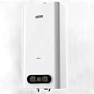 HTW - Calentador de Gas Butano Atmosférico Automático 11 Litros Obi - Cámara Abierta - Tiro Natural