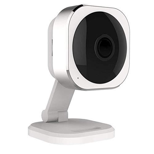 YUTR Panorama Interiores cámara 1080P HD WiFi de Seguridad inalámbrica for el bebé/Familia/Animal doméstico del Monitor con visión Nocturna por Infrarrojos, Trabajo en la PC/Pad, Alarma móvil /