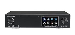 Riproduzione e funzionamento tramite rete (UPnP/DLNA Mediaserver & Renderer) Supporta una frequenza di campionamento fino a 192 KHz alle uscite digitali. Supporta servizi di musica online: Qobuz, Spotify, Wimp/Tidal, High Audio e Reciva Internet Radi...