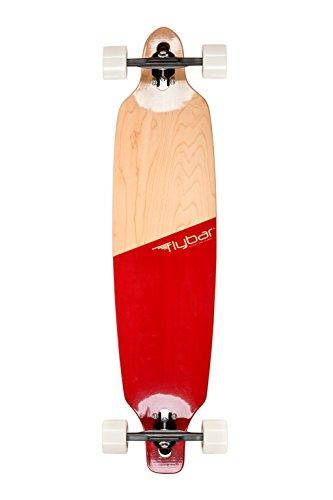 Flybar Skate Drop Through Longboard Skateboards 39' x 9' Lightweight 7...