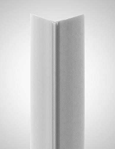 BODENMEISTER Tapeteneckleiste Kunststoffwinkel (Außenwinkel) silber, Länge: 260cm