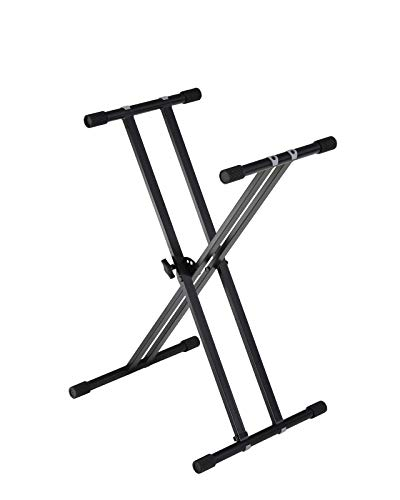 FITUEYES Double-X Keyboard Stand Adjustable eavy Duty Premium Stand