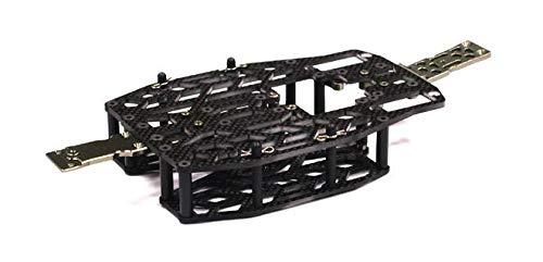 Integy RC Model Hop-ups T3484 Carbon Fiber Chassis Conversion Set for 1/16 Traxxas Slash VXL