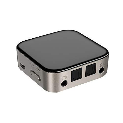 T-ara Calidad de Sonido de Alta fidelidad Transmisor del Receptor de Bluetooth Tuner Bluetooth5.0 Adaptador de Fibra óptica Óptico 3.5mm AUX AUX Audio Stereofony Adapter La tecnologia mas Nueva
