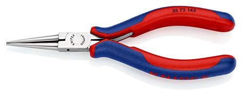 KNIPEX 35 72 145 Elektronik-Greifzange mit Mehrkomponenten-Hüllen 145 mm