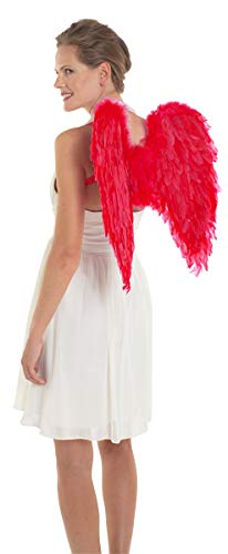 Folat 62090 Federflügel Rot, Womens, One Size