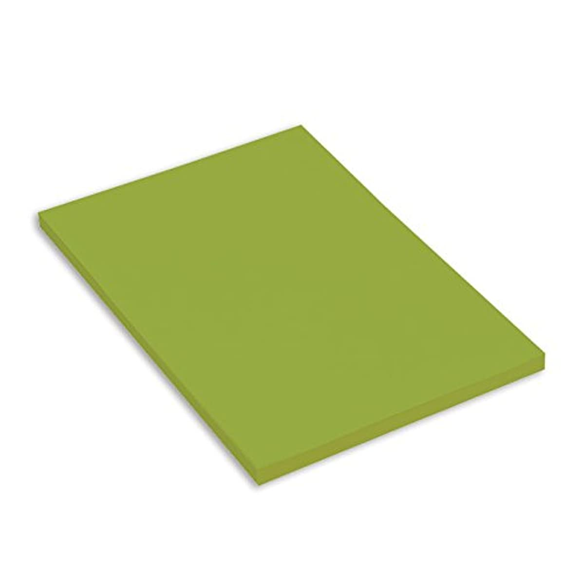 Canson Mi-Teintes A4 160 GSM Honeycombed Grain Coloured Drawing Paper - Apple Green (Pack of 50 Sheets)