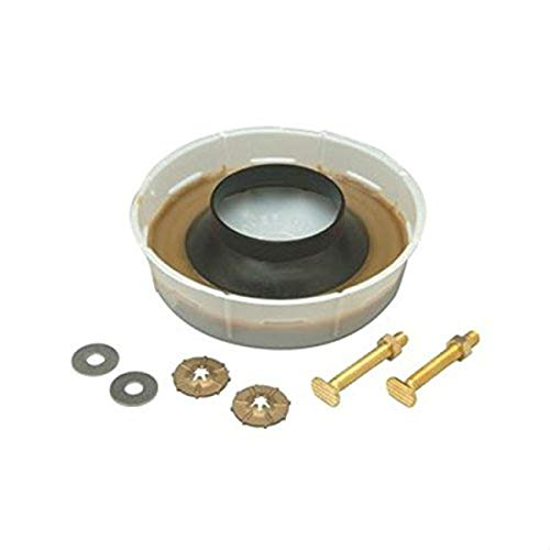 Zurn Z5972-COMB Closet Bolts/Wax Ring Kit, 5/16