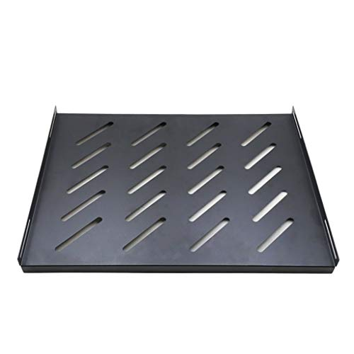 """Server Rack 1U plataforma de 19 pulgadas Server Bastidores / Estanterías cantilever Gabinete de servidor, for trabajo pesado de 1,2 mm de acero laminado en frío, 13.8"""" Deep, 50 libras de capacidad"""