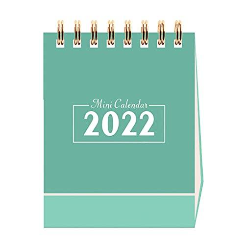 Linsition Calendario da tavolo 2021 – 2022, calendario mensile, agenda giornaliera | settembre 2021 – dicembre 2022 | Calendario mensile Daily Planning calendario taccuino 98 x 76 mm