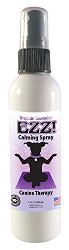 Mold Monster EZZ! Canine Calming Spray- Organic Lavender Aromatherapy Dog Calming Aid - Safely Soothe Your Dog with EZZ- 4 oz