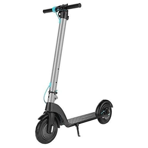 Lirui Elektrische scooter, opvouwbaar, ultralichte 350 W motor met schijnwerper en display, 25 km/h, 8 5 inch, vacuümband, draagbare elektrische step voor volwassenen en adolescenten 25 km (6,4 A).