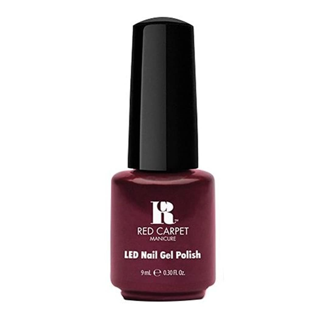 文字セッティング深くRed Carpet Manicure - LED Nail Gel Polish - Glamspiration - 0.3oz / 9ml