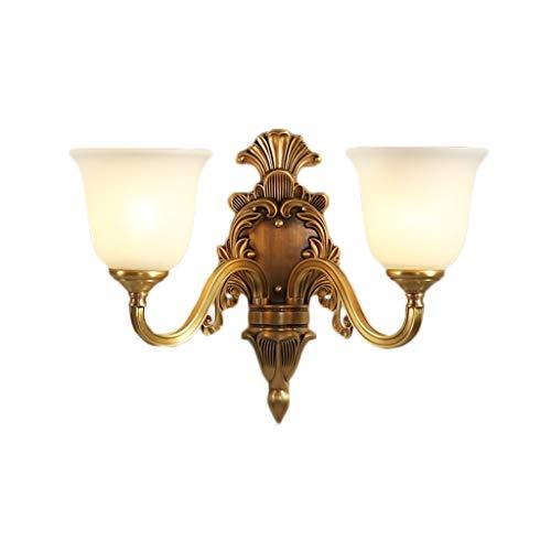 Wandlamp Europea Alles koper, 7W LED Tricolor wandlamp bedlamp, bed Corridoio Corridoio Corridoio wandlamp