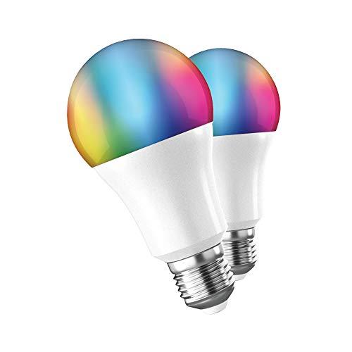 muvit iO Pack 2 Bombillas A60, E27 800lm, 9W, RGB+CCT, D60*H118