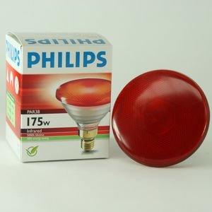 Bombilla infrarroja de calor Philips 175W para animales