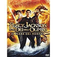 Locandina DVD Percy Jackson E Gli Dei Dell'Olimpo Il Mare Dei Mostri 2