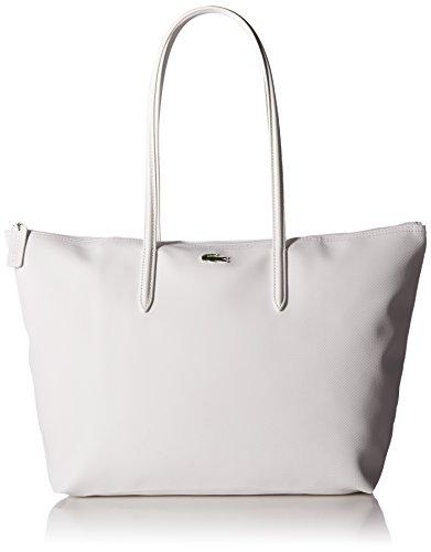 Lacoste L.12.12 Tote Bag, Bright White