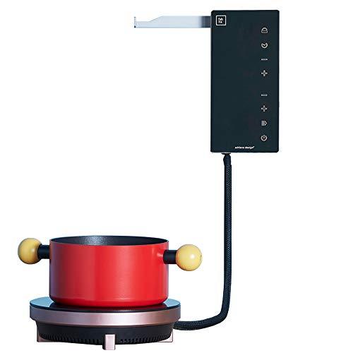 Fabita Ordine – Placa de cocción eléctrica de inducción Ordina en vitrocerámica,...