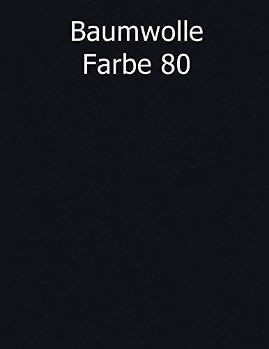 Merino Europa Bezug für Dakimakura Kissen, Seitenschläferkissen, Umarmungskissen 50 x 150, nur Bezug, nur Original von heimtextilmanufaktur (80 (schwarz))